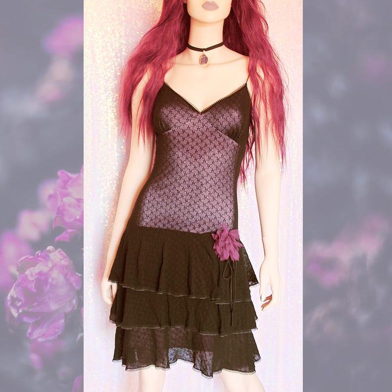 f1988709bad1a 90s BETSEY JOHNSON Slip Dress 90s Slip Dress Grunge dress