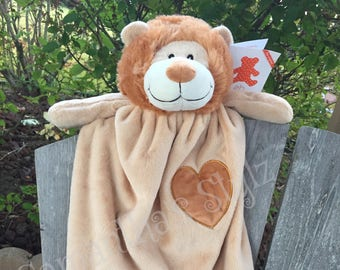 Personalized lion etsy personalized lion blanket negle Choice Image
