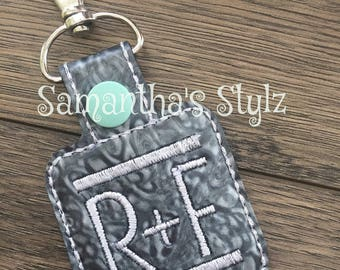 Single Rodan + Fields Key Chain, Advertise R+F, Rodan and Fields, Consultant Gift, R + F Swag, Regimen Colors Key Fobs