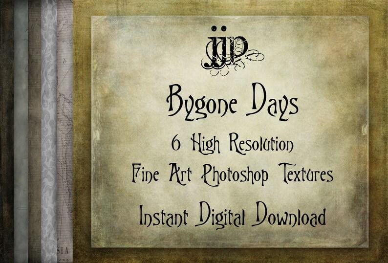 Giorni passati - arte Photoshop texture  Ad alta risoluzione  Instant  Download digitale