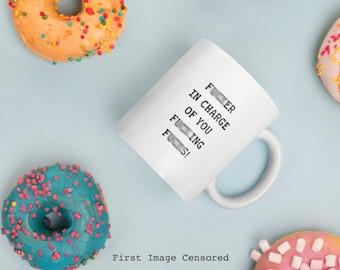 Mature, Swear Words, Gift For Coworker, Coffee Mug, Gag Gift, Funny Coffee Mug, Christmas Gift, Quote Mug, Gift For Her, Fuck Mug