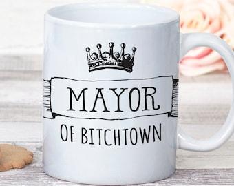 Funny Mug, Coffee Mug, Gift For Mom, Mothers Day Gift, Mature, Best Friend Gift, Coworker Gift, Bitch, Curse Word Mug, Bestie Coffee Mug