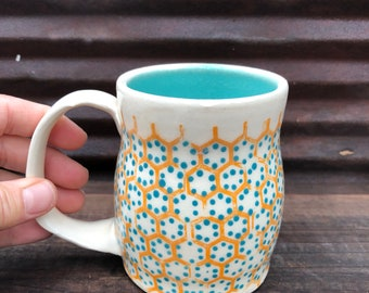 Handmade mug ceramic mug coffee mug handmade coffee mug