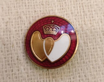 Vintage British Blood Donor Badge, enamel