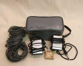 Vintage AKAI Terecorder Microphones for Reel to Reel