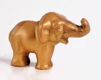 Chocolate Elephant- The Golden Elephant
