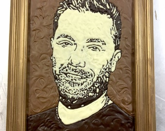 Chocolate Portrait Painting- Bespoke and completely edible