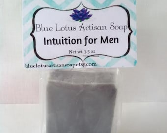 Intuition for Men - Shea Butter - Handcrafted - Melt & Pour - Bar Soap