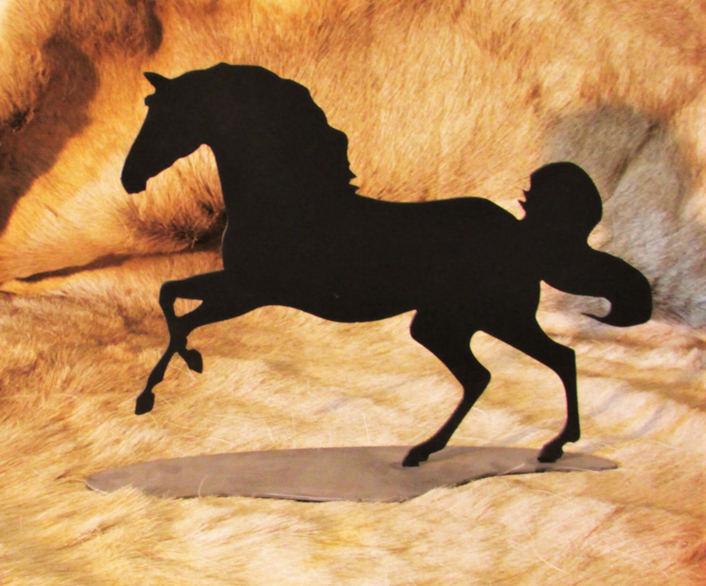 Horse Home Decor Statuette Equine Stallion Mustang Wild | Etsy