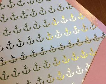 Custom foil-lined envelopes