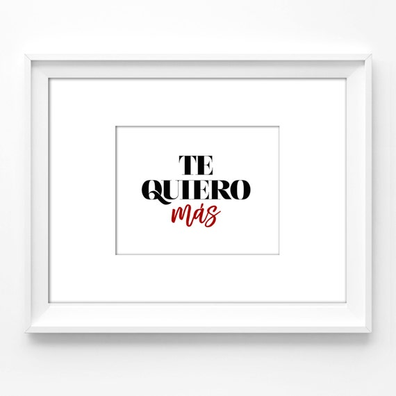 8x10 wall art printable. spanish quotes, inspirational, wall decor, office  decor, spanish, instant download