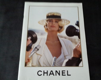 Chanel Boutique catalogue 1990, photos by Karl Lagerfeld