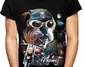 Bulldog Biker T-Shirt