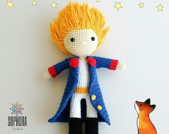 dbe79af72 Amigurumi Pattern/Patron Amigurumi/Crochet Pattern/Photo tutorial/Little  Prince Amigurumi Pattern/El Principito Patron Amigurumi/PDF