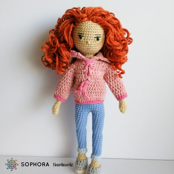 Amigurumi boy! with a link to a hair tutorial | Crochet doll ... | 570x570