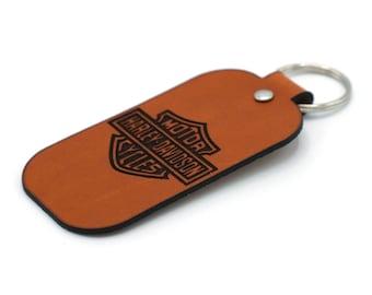 Custom Logo Leather key holder - With Your Own Logo