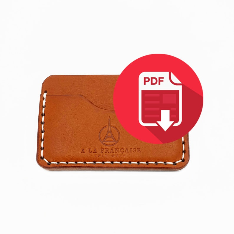 Minimal Leather Wallet Gabriel 3 Pockets  PDF image 0