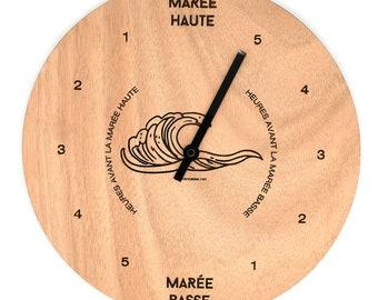 Wooden Tides Clock - Customizable