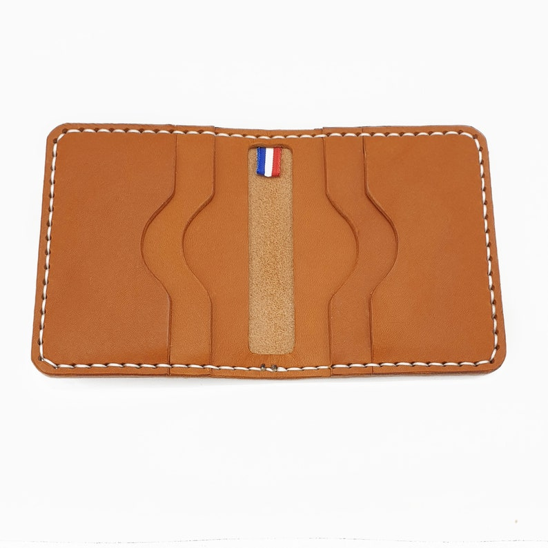 Minimal Leather Wallet Louis Handmade image 0
