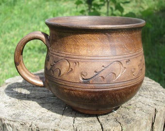 pottery mug handmade stoneware mug clay mug pottery coffee mugs large coffee mug hand thrown mug cappuccino mug cool coffee mugs 16 oz nice