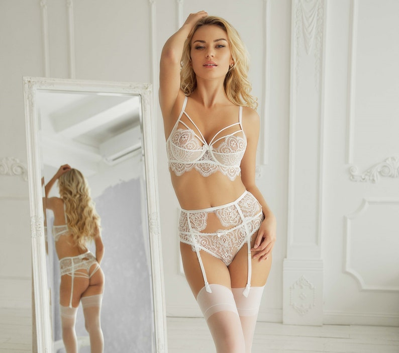 a1dbf9e9c Bridal lingerie set Wedding gift Bridal lingerie Wedding