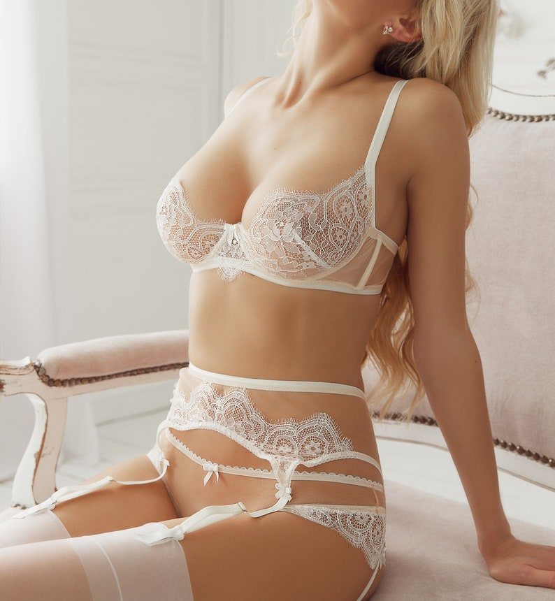 85c65590f Wedding lingerie See through lingerie Bridal lingerie Plus