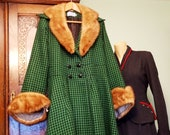 Original Vintage Fur Collar And Matching Cuffs For Your Coat Jacket Suit Goodwood 1940s 40s 30s Art Deco 50s 1950s 1930s
