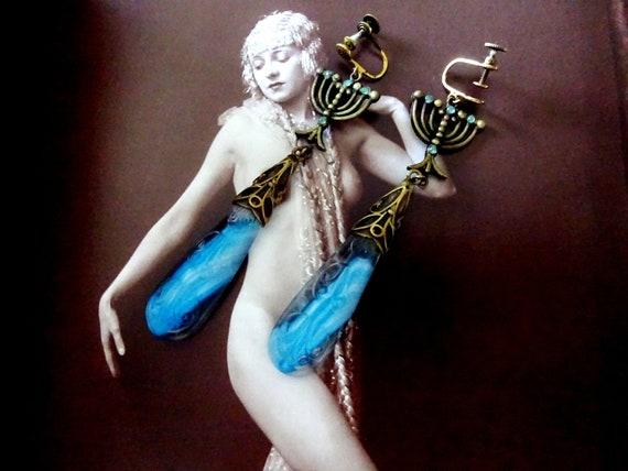 Stunning Rare And Unusual Gablonz Antique 1920s 19