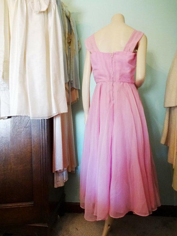 Original Vintage 1950s Prom Dress Goodwood Dita V… - image 5