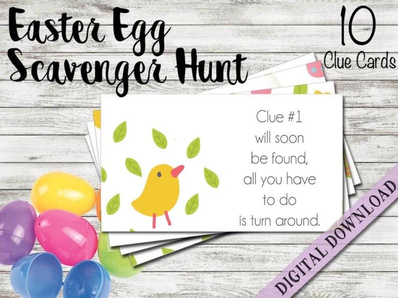 Easter Egg Scavenger Hunt | Beanstalk Mums