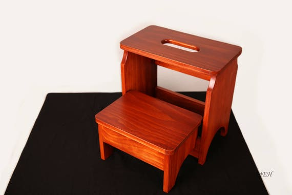 Wondrous E Zcarry Heavy Duty Handcrafted 2 Step Folding Stool Pabps2019 Chair Design Images Pabps2019Com