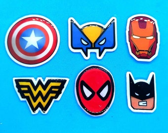 Plastic Pin's SUPER HEROS
