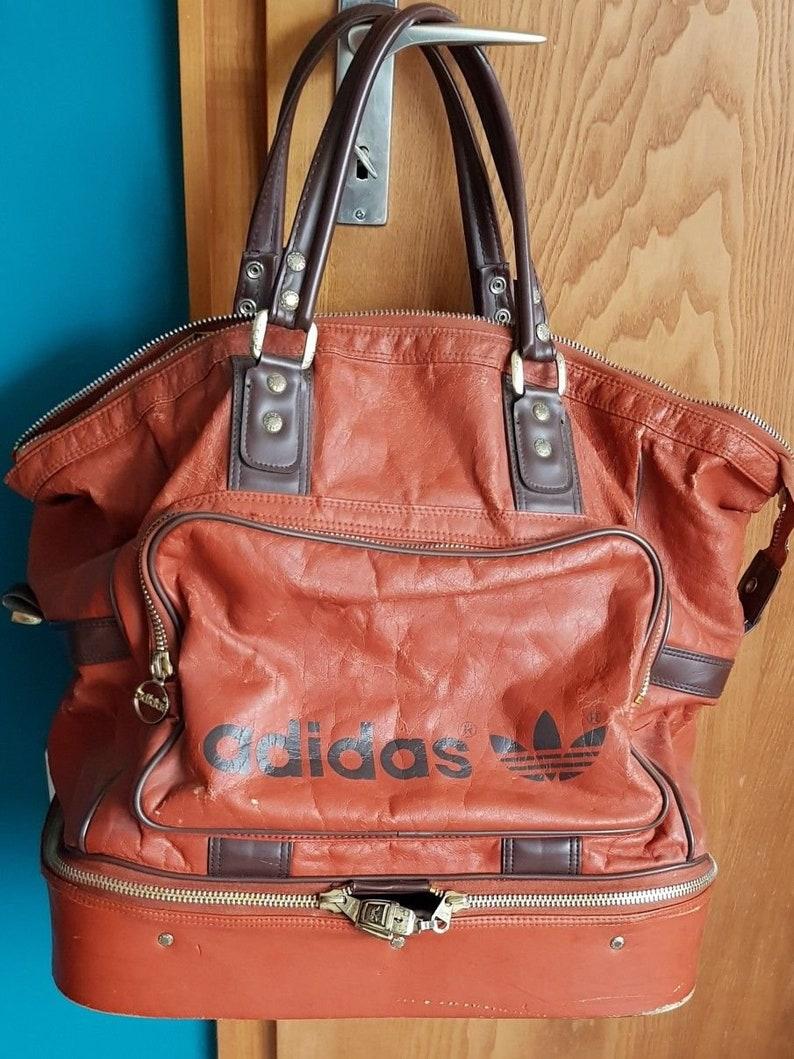322e92d5a9f19 Adidas Sporttasche Sport Tasche Reisetasche Vintage Retro Sporttaschen    Rucksäcke