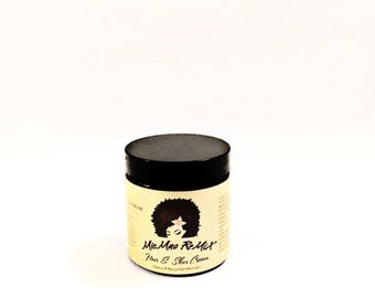 HAIR|SKIN CREAM with protein moisturizes hair to help prevent breakage, protect from heat, reduce shedding and nourish dry skin.