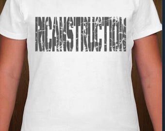 RICANstruction Womens  tshirts for the reconstruction of Puerto Rico
