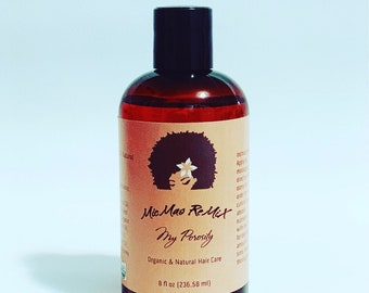 MY POROSITY Specialized for Low Porosity Hair to absorb all the nutrients in a protein free light oil formula and lock in moisture.