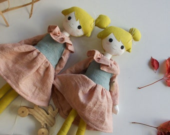Handmade  soft doll.