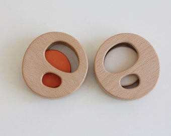 Baby rattle and teether