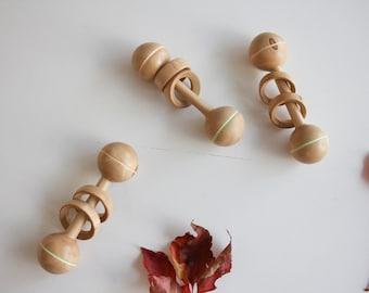 Handmade baby rattle