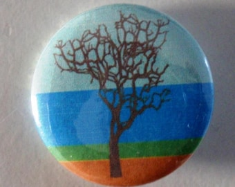 Love Trees! 25 mm Button, Badge, Pin, Colorful nature, Graphic fashion,