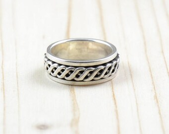 Ring Hopi, woman, woman silver ring, genuine ring, size 59 ring, size 8 3/4