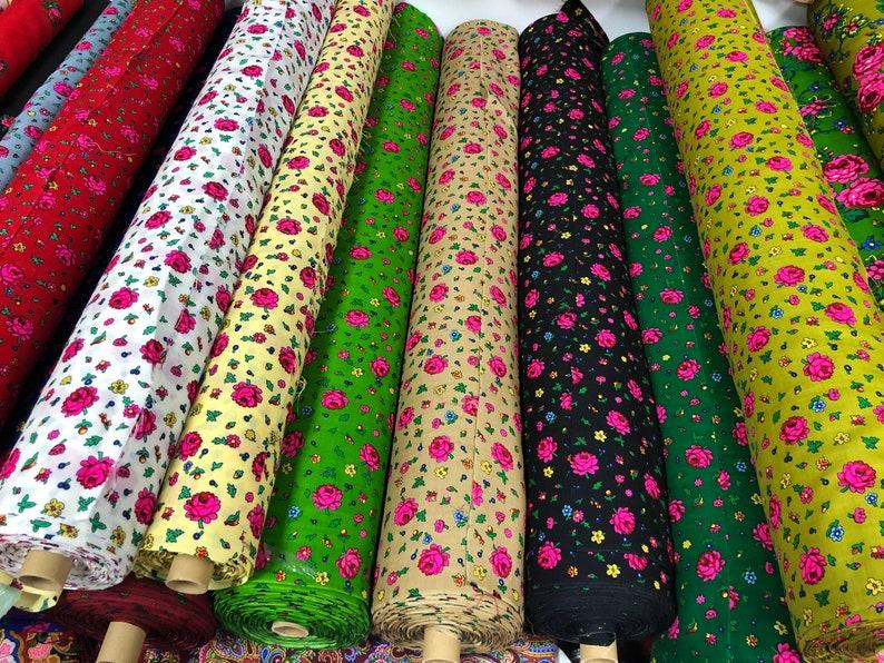 Romanian Ukrainian Polish Russian and others. Folklore Wool Fabric