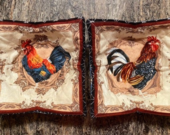 Soup Bowl Cozy Italian Fabric or Farmhouse Rooster Fabric