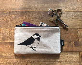 Off-White Chickadee 7-inch Zipper Pouch