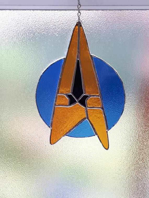 Star Trek Symbol Star Fleet Insignia Discovery Next Generation Etsy