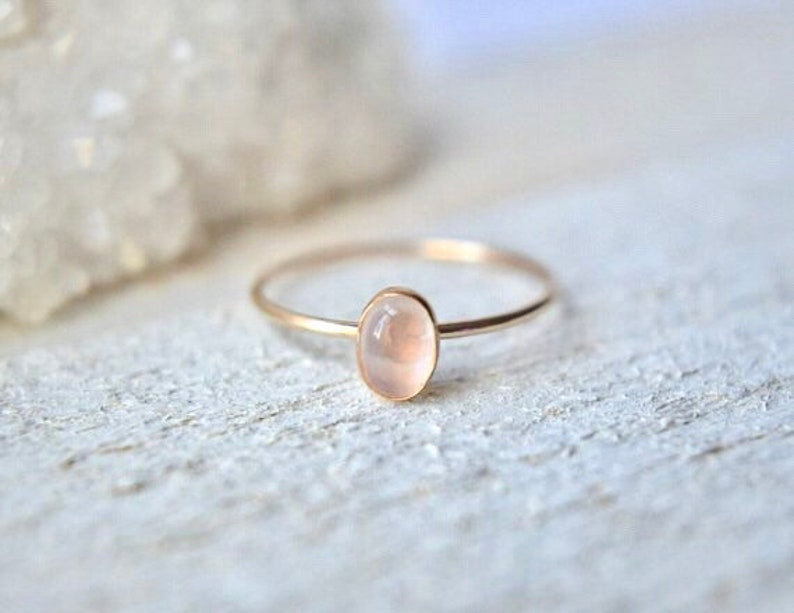 7e323e5926c91 Oval Moonstone Ring- Rainbow Moonstone Ring- Oval Moonstone Ring Gold-  Moonstone Oval Ring- Oval Rainbow Moonstone Ring