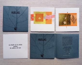 Huellas, artist's book