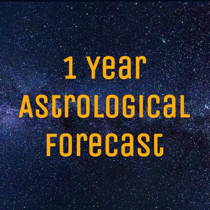 2020 Natal chart astrological forecast PDF 2020 Astrological image 0