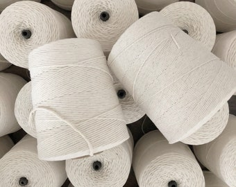 1.5 mm Poly Cotton String, Macrame String, Cord, Rope, Poly Cotton Rope, Poly Cotton Twine