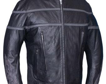 6049.18 Men's Motorcycle Jacket Zip Out Liner